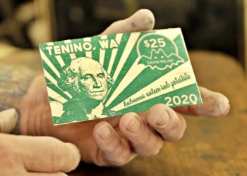 Town Prints Wooden Money For Residents