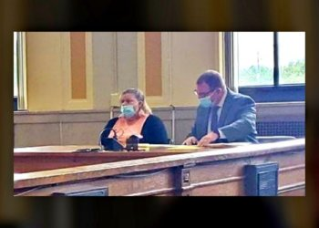 Cocaine/Heroin Trafficking Suspect, Rebecca Ross, Meets The Judge
