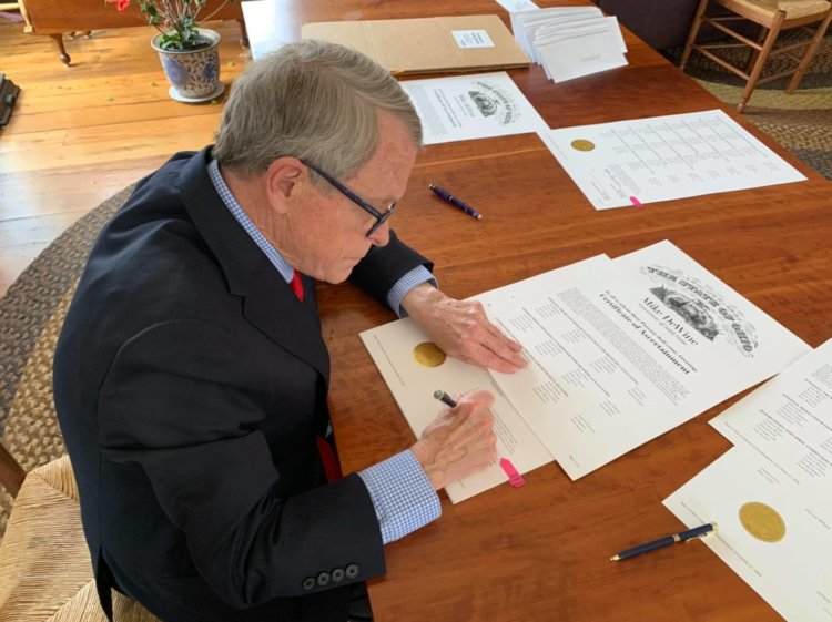 Ohio Governor Mike DeWine to Sign Anti-Hazing Law Today